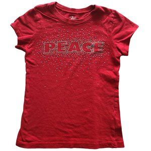 🍒3/$20🍒1989 PLACE Red Peace SS Tee S